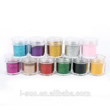 variou colors and models flash glitter powder, glitter