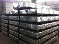 0.13mm- 0.7mm*750-- 1250 de alta calidad duro completo de hojas de acero galvanizado