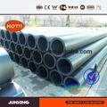 Dn50 sdr11 1.6 mpa pe100 tubo de polietileno preto da tubulação de pead em rolo para irrigação