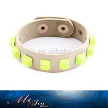 2014 produttore di gioielli moda cinturino in cuoio cinturino con perno