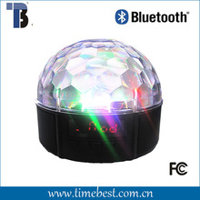 Disco party light led bluetooth speaker with magic ball remote control/TF/USB/FM