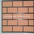 de imitación de ladrillo de un solo color especial efecto foir de pintura de la pared del edificio