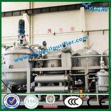 Ship and Car Waste Engine Oil Recycling Machine / Used Oil Recovery Plant YUNENG YNZSY