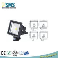 2014 new LED Floodlight 20W 30W 50W IP65 PIR Motion Sensor Home Garden Security LED Flood Light Lamp