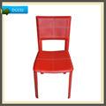 Pu de alta qualidade cadeiras de couro vermelho para sala de jantar cozinha&& hotel