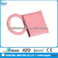 Pink Nurse Leather Mini Makeup Mirror