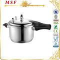 Majestic profissional 304 açoinoxidável panela de pressão com o apito& junta fácil de usar msf-3776