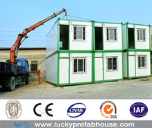steel cargo container house used in india