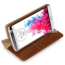 TETDED Premium Leather Case for LG G3 D850 / D855 4G LTE -- Gerzat III (Vintage: Brown)