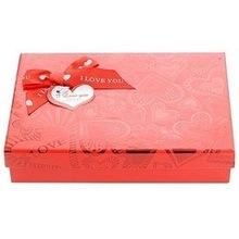 2014 Luxury red Wedding Favor Gift Paper Box