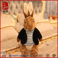 Easter soft bunny uniform custom rabbit