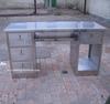 Stainless Steel Work Desk in Office
