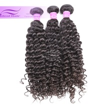 2014 New Product Virgin Romantic Essential 100% Natural Color Deep Wave Virgin Malaysian Remy Hair