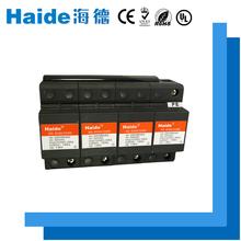 A 10/350us 4p black three-phase plugs