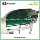 90 degree curved belt conveyor
