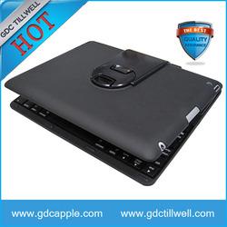 Fashionable 360 Degree Rotary Wireless Bluetooth Keyboard for ipad 2 3 4