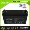 o melhor de chumbo ácido de bateria preço de fábrica recarregável 200 amp bateria solar controlador de carga