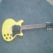 100% wooden cheap Les Custom Paul china electric guitar KHG-STD-34