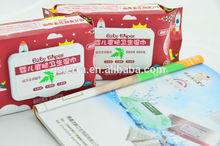 Baby nass wischen reich an Aloe Vera und Vitamin E/wegspülbar medizinische tücher für baby