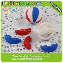 Wholesale Customized Eraser With Ball Shape