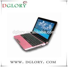"DG-NB1002 hot selling 10.2"" lap/top/netbook/notebook Intel core D2500 Windows7 OS 1024*600 1G/160G"