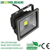 led garden lighting fixture 20w with IP65 waterproof