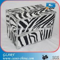 Zebra compact promotional makeup case