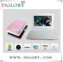 "DG-NB1003 multifunctional 10.2"" netbook CPU VIA8880 dual core 1024*600 1GB/8GB Android 4.2"