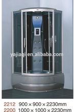 outdoor top cover blue film shower cabin shower room foot massage