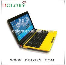 """DG-NB1002 popular 10.2"""" lap/top/netbook/notebook Intel core D2500 Windows7 OS 1024*600 1G/160G"""