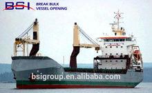 DRY BULK CARGO FROM LONGKOU /TIANJIJN /SHANGHAI TO LUANDA/POINTE NOIRE