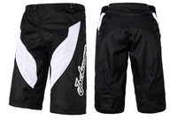 Jackcome Men Cycling shorts Padded Cycling Shorts Motocross MTB Short s size:28 30 32 34 36 38 Black No.JS1001