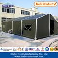 10 x 20 exército lona barraca de acampamento para o exército treinamento de campo
