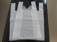 Die cut hdpe clear printing t shirt cheap shopping plastic bags
