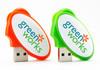 Colorful High Quality Egg shape strange usb flash drives bulk cheap