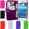 PU Leather Wallet Book Flip Phone Case Cover For Samsung Galaxy S4 Mini i9190 Laudtec