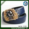 Wide fashion belts women with rhinestone dressy belt