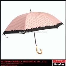 Japanese type beautiful sun and rain umbrella girls umbrella 2 layers umbrella