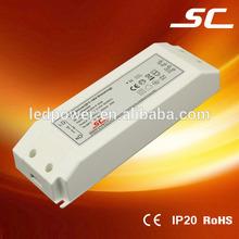 350ma 45-80v 30w constant current 0-10V dimmable plastic case led driver 220v