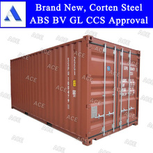 new 20ft 40ft sea shipping containers with any color and logo