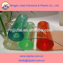 various colors pvc flexible transparent plastic sheet