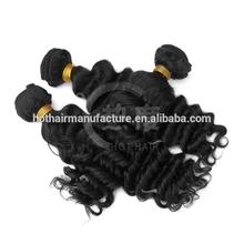 top quality natural brazilian 100% virgin human hair factory price brazilian deep wave hiar