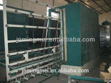 Máquina de lavado de vidrio / vidrio templado de producción line-LM2500P
