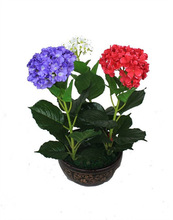 SMALL ARTIFICIAL GREEN PLANT BONSAI FLOWER POTTED PLANTER