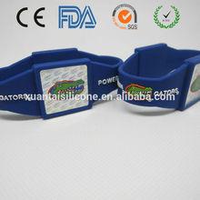 custom LOGO laser silicone wristbands basketball with FDA SGS LFGB certificates