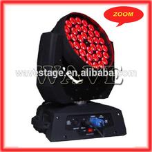 WLEDM-11-4 Quiet Zoom moving head light RGBW 10w moving head wash / led light