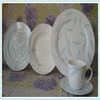 20pcs germany dinner set porcelain,Top quality novel porcelain opal dinnerware