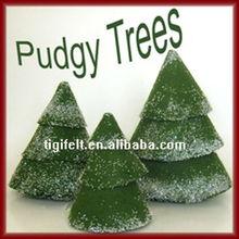 Christmas felt ornaments/customized home decoration/colorful felt decoration