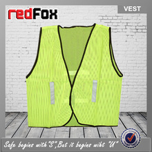 roadway protective reflective motorcycle safety vest