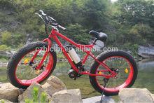 2014 new fat wheel electric bicycle conversion kit,hot sale cruiser beach bike,16*3 tire